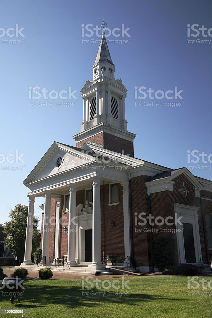 Church Building stock photo