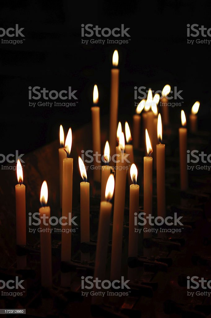 church candles royalty-free stock photo