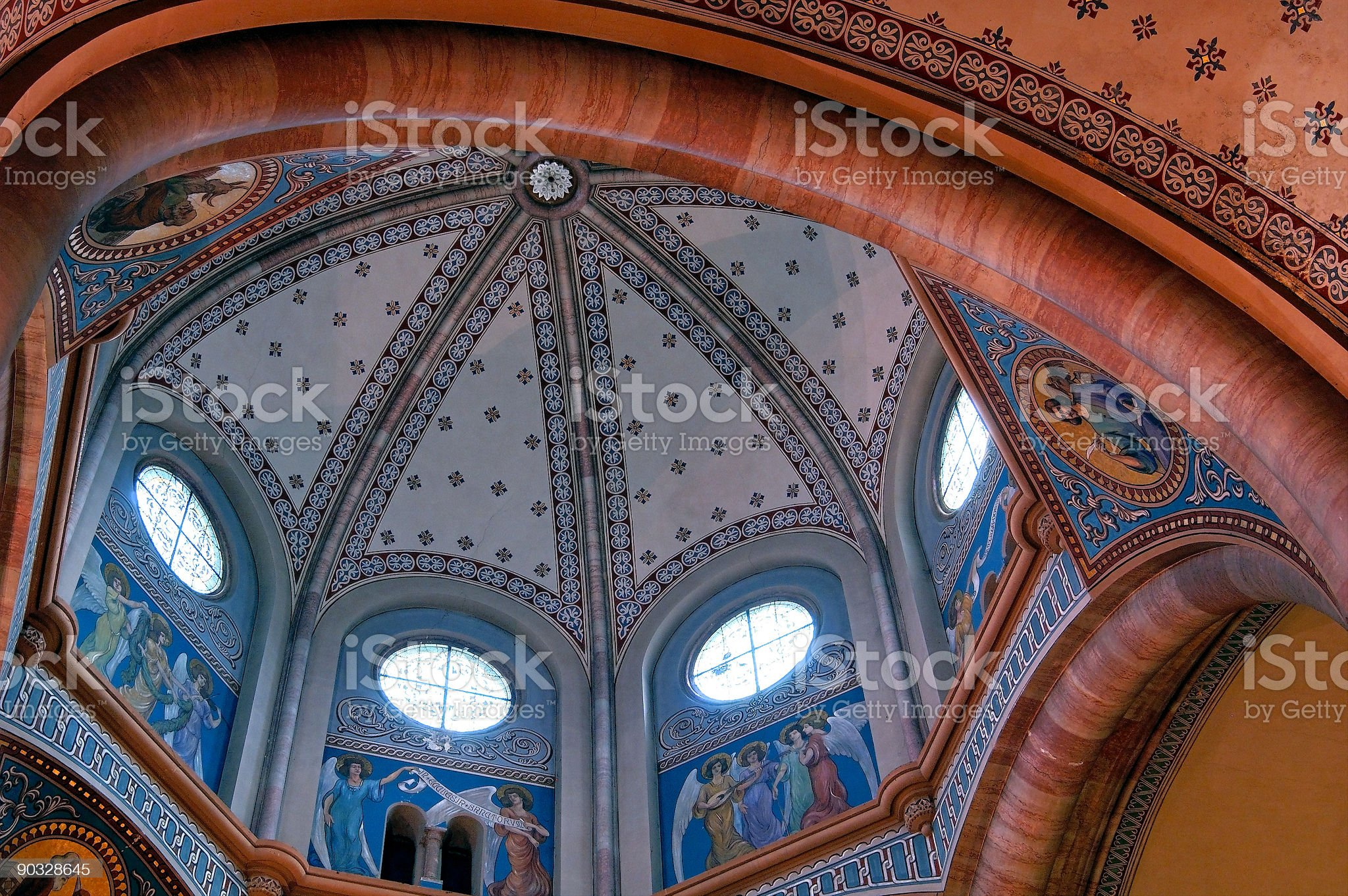 Church Colors royalty-free stock photo