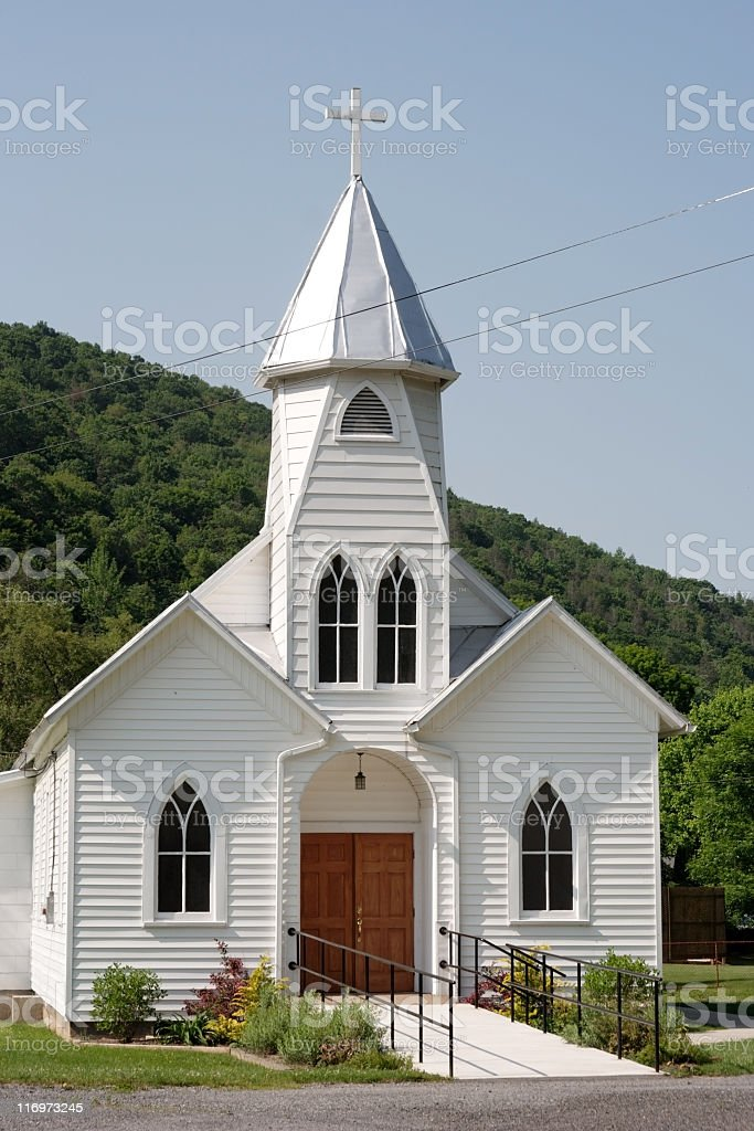 Church Country stock photo
