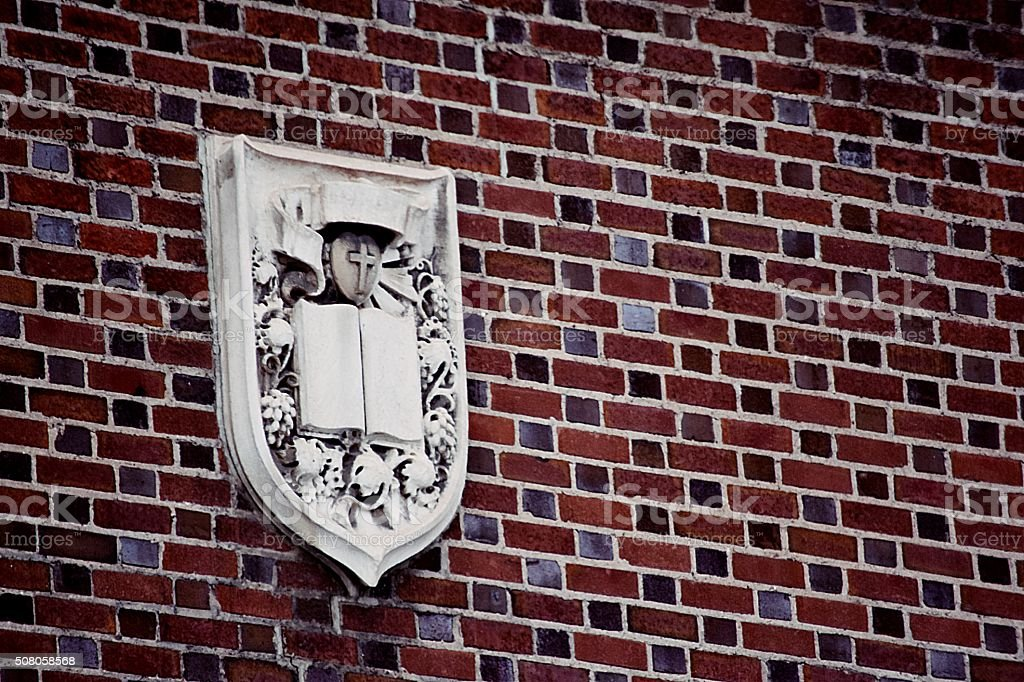 church crest royalty-free stock photo