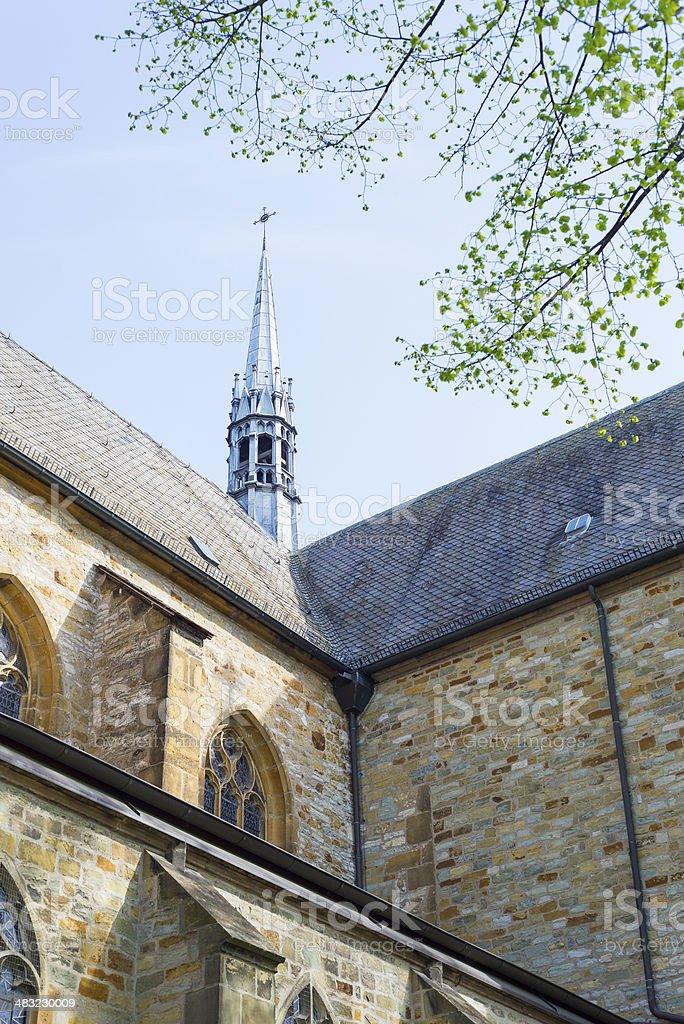 Church detail royalty-free stock photo