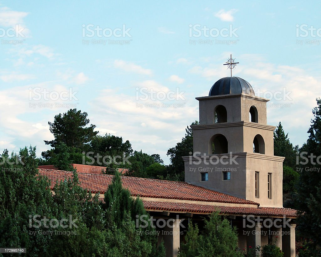 Church Dome and Belltower royalty-free stock photo