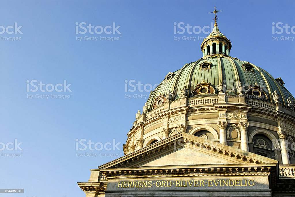 Church dome royalty-free stock photo