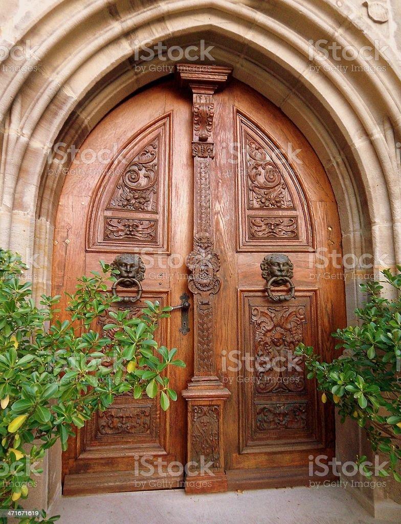 church door royalty-free stock photo