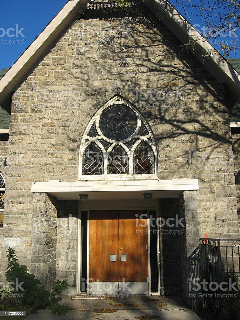 Church Entrance royalty-free stock photo