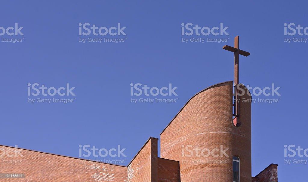 Church Evangelical stock photo