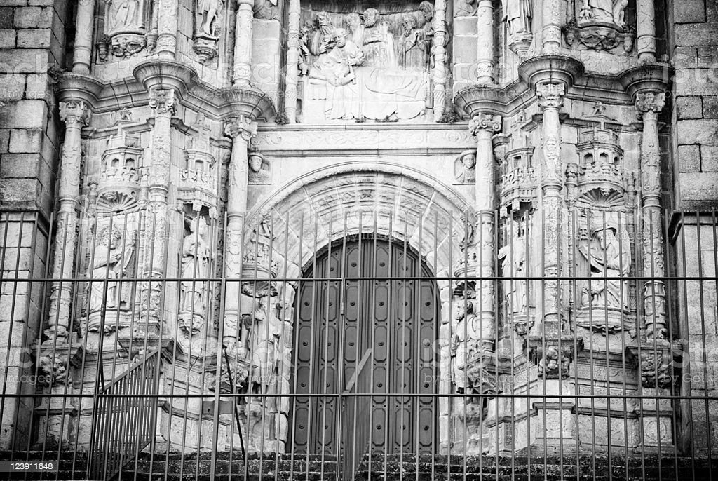 church facade stock photo