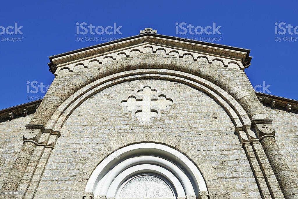Church Facade royalty-free stock photo