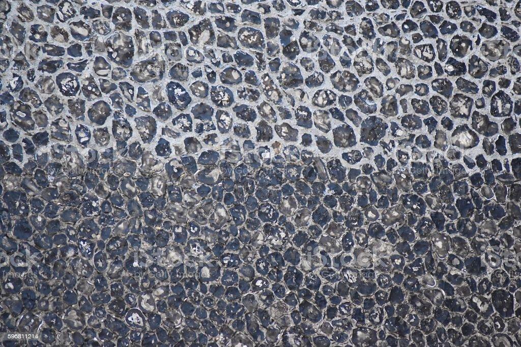 Church flint wall background stock photo