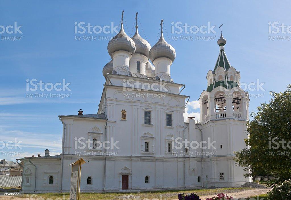 Church for the sake of Saint tsars Konstantin and Elena stock photo