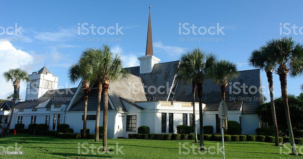 Church Grounds stock photo