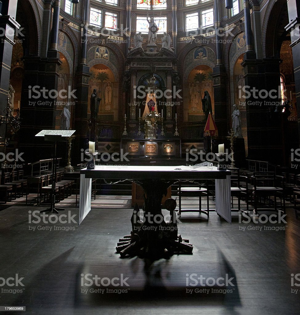 Church in Amsterdam royalty-free stock photo