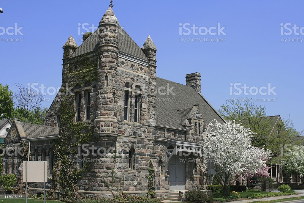 Church in Ann Arbor, Michigan, USA. royalty-free stock photo