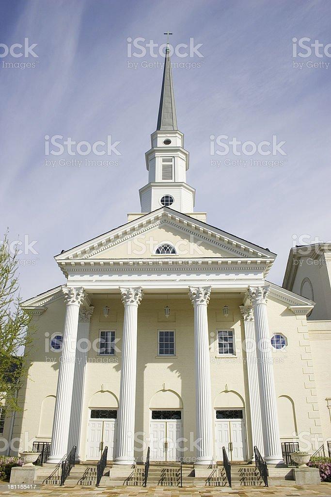 Church in Atlanta royalty-free stock photo