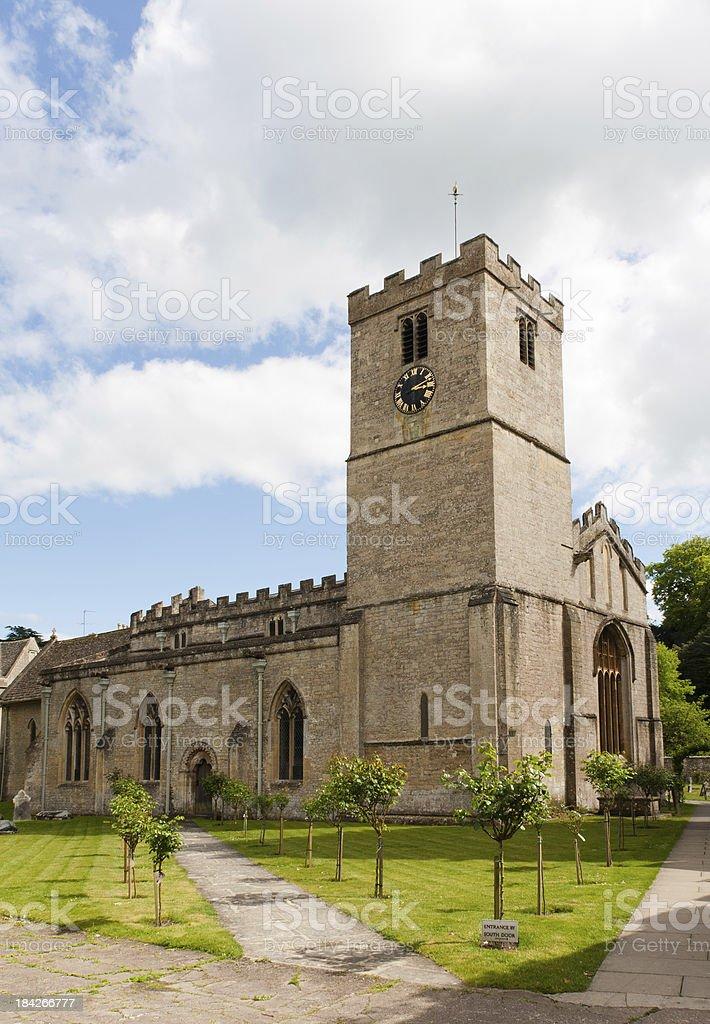 'Church in Bibery, United Kingdom' stock photo