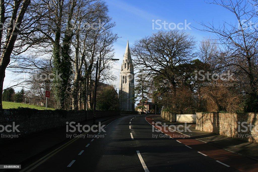 Church In Bray, Ireland stock photo