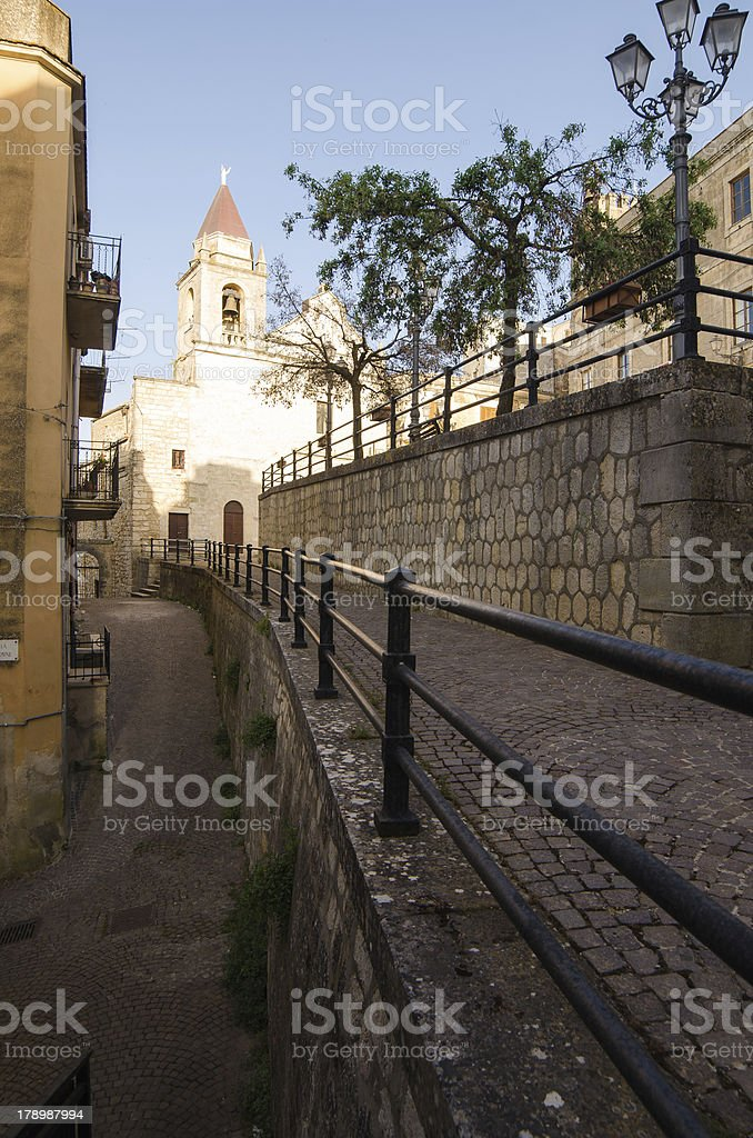 Church in Cattabellotta, Sicily royalty-free stock photo