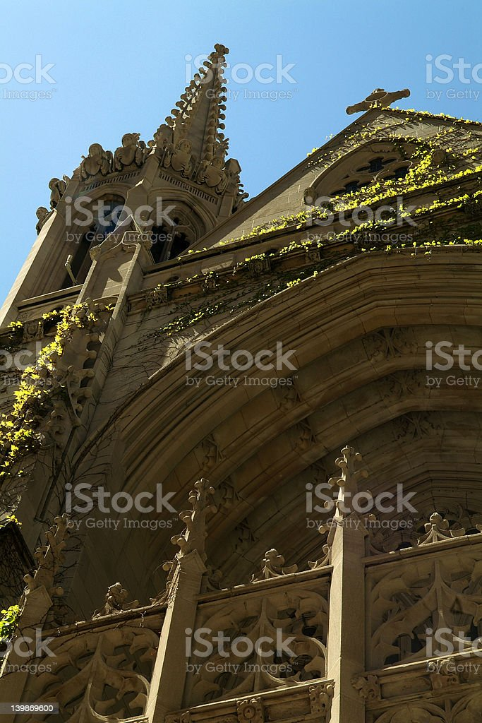 Church In Chicago royalty-free stock photo