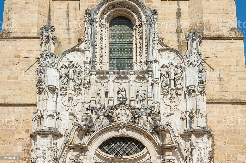 Church in Coimbra, Portugal stock photo