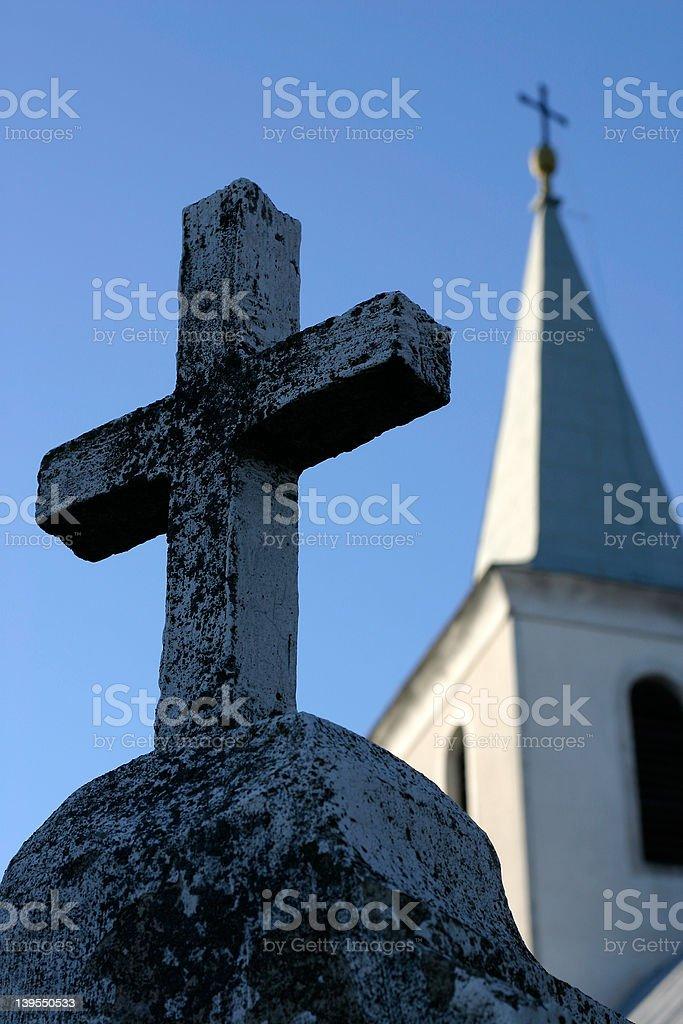 church in Croatia royalty-free stock photo