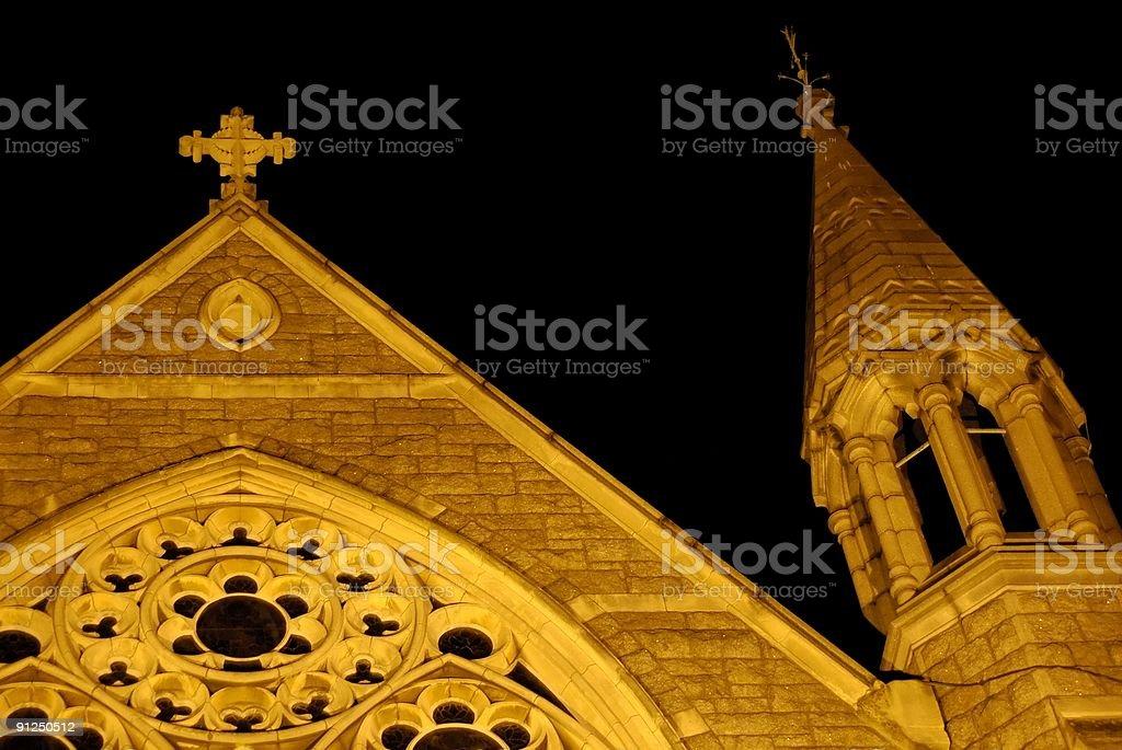 church in Dublin, Ireland royalty-free stock photo