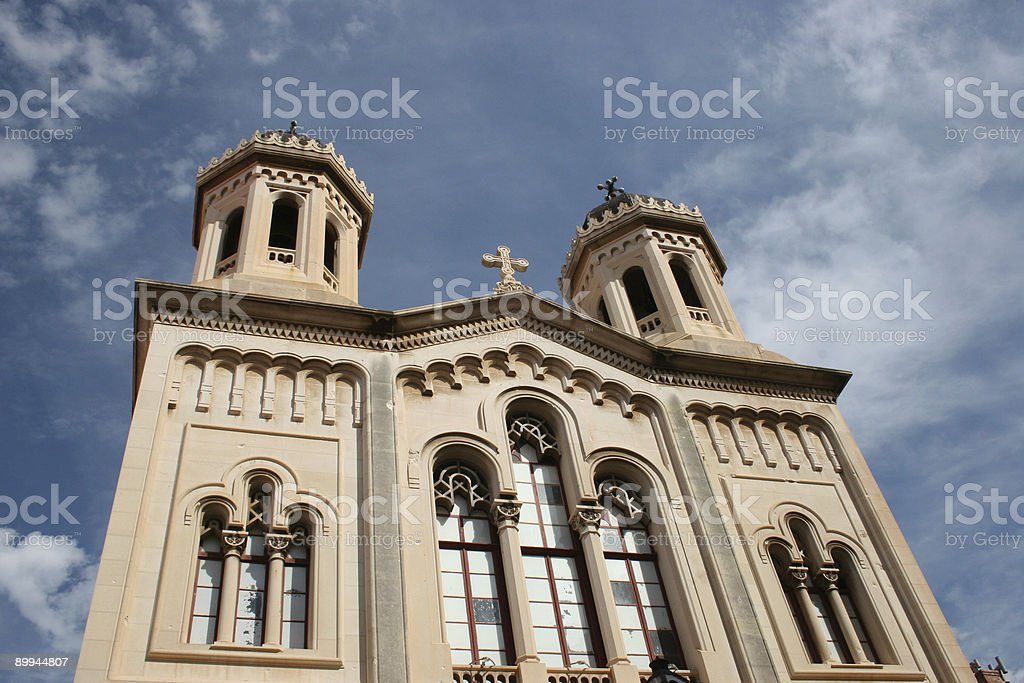 Church in Dubrovnik royalty-free stock photo