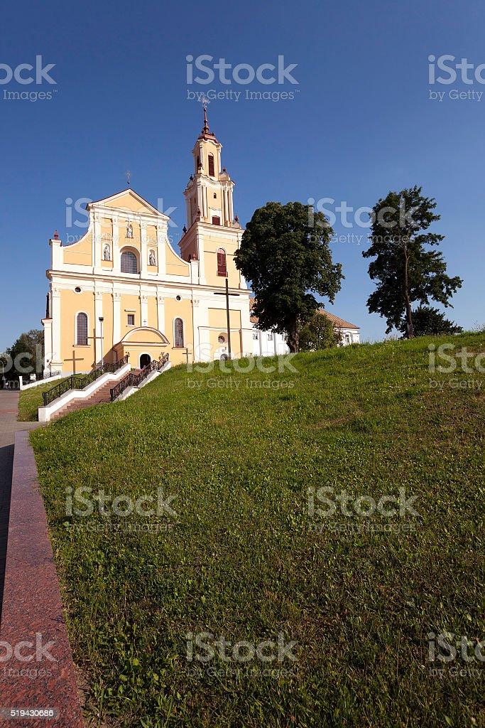 church in Hrodna stock photo