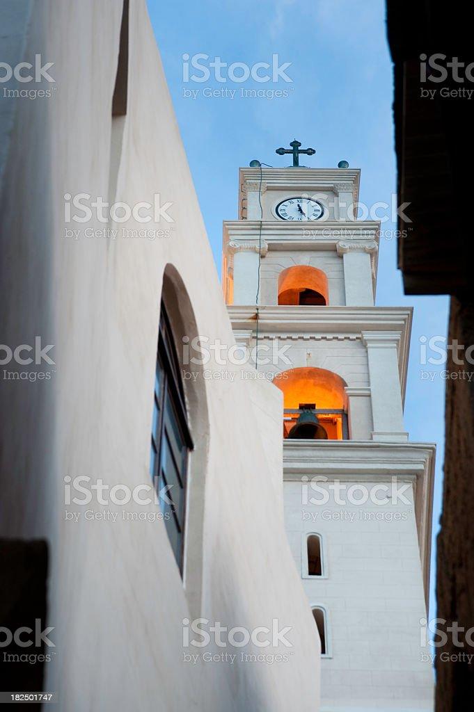 Church In Jaffa stock photo