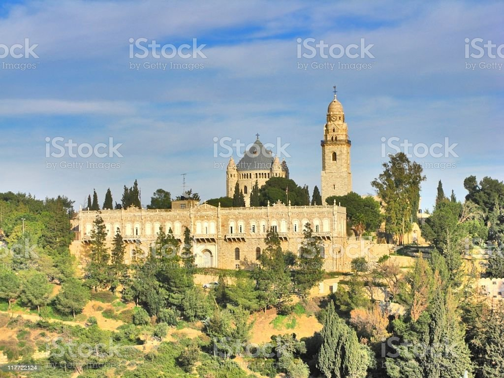 Church in Jerusalem royalty-free stock photo