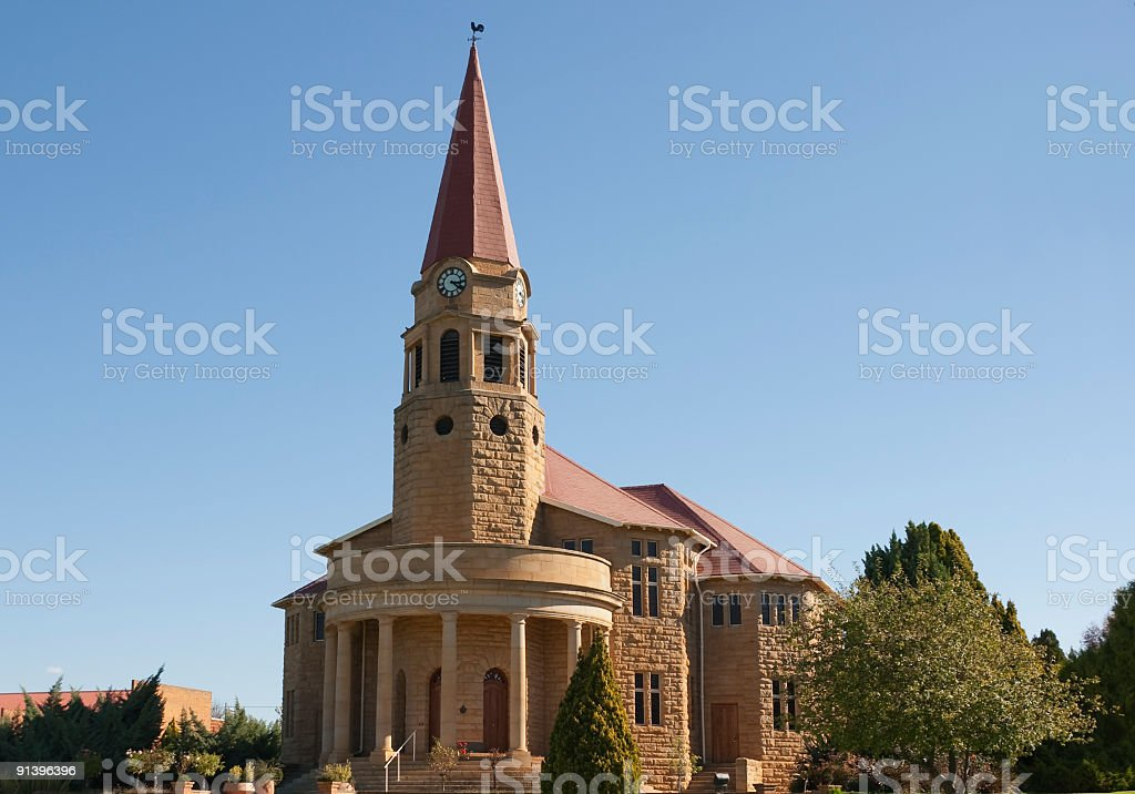 Church in Kestell royalty-free stock photo