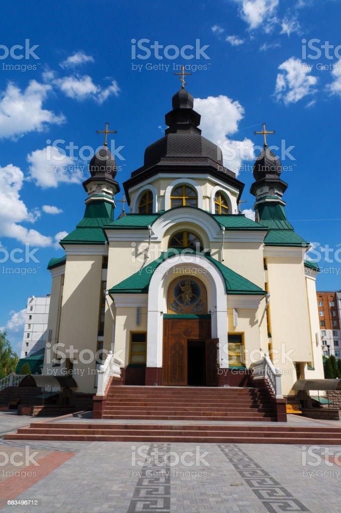 Church in Kiev, capital of Ukraine stock photo