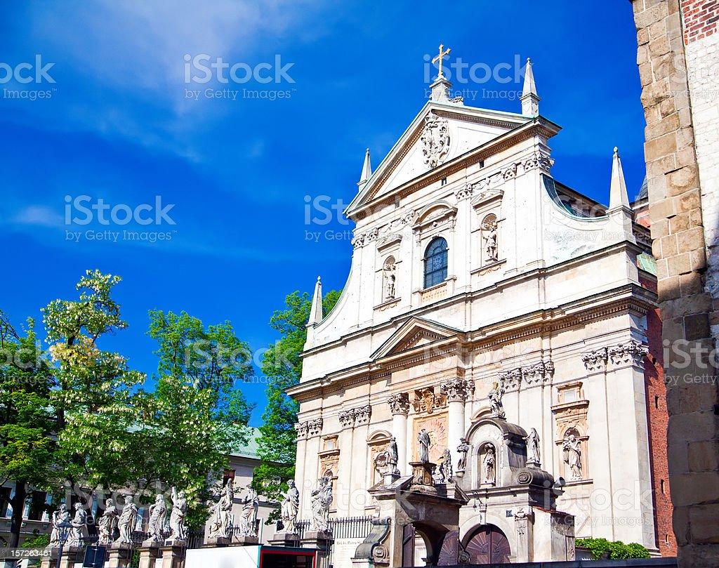 Church In Krakow royalty-free stock photo