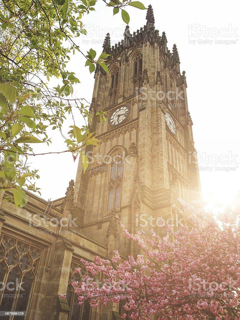 Church in leeds stock photo