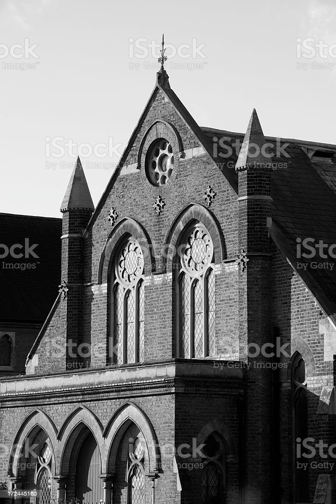 Church in London, England royalty-free stock photo