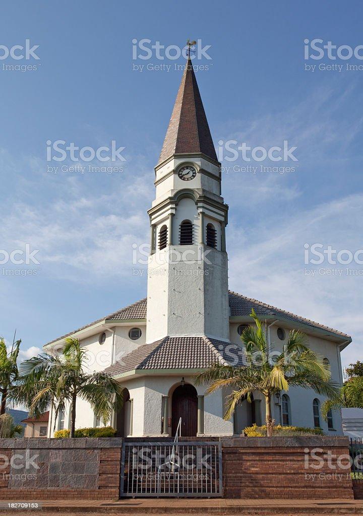 Church in Louis Trichardt stock photo