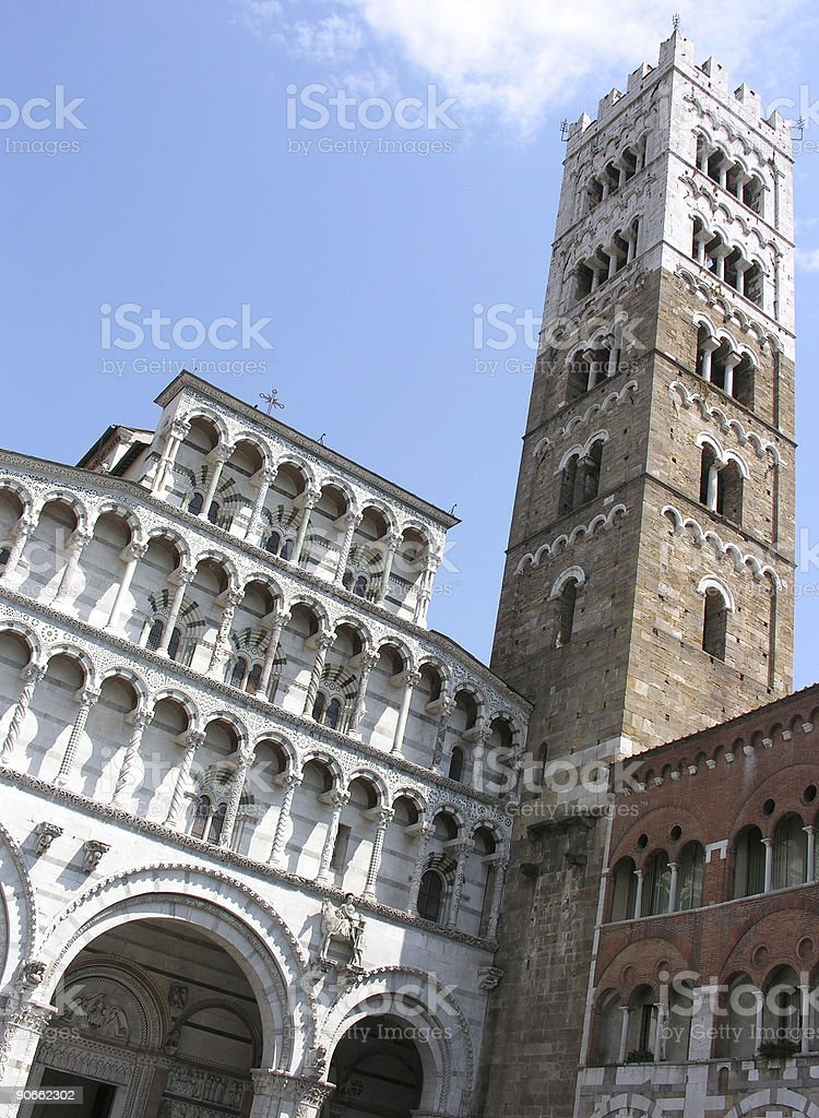 Church in Lucca royalty-free stock photo