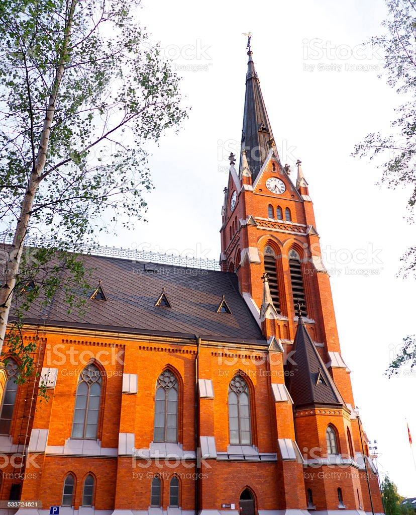 Church in Lule?? stock photo