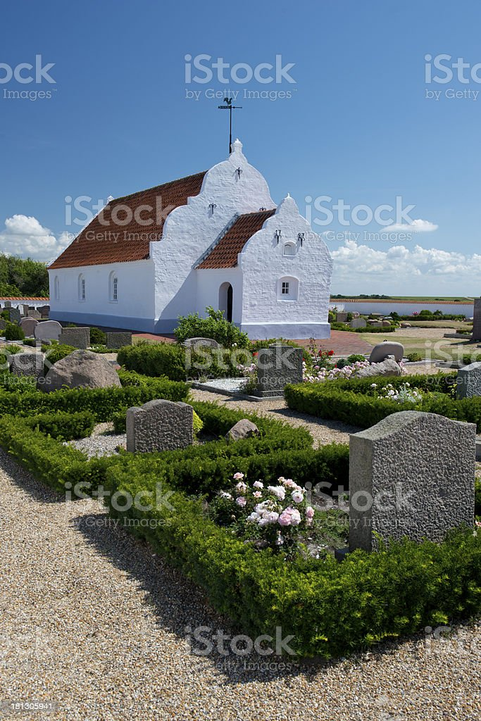 Church  in Mando stock photo