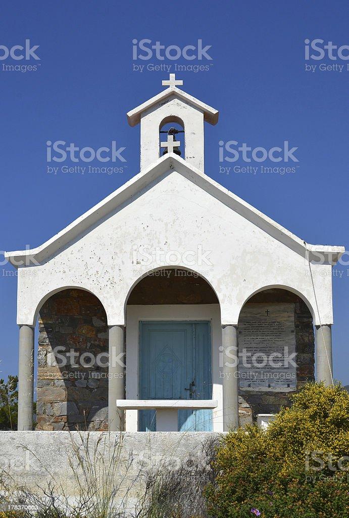 教会で Milatos ます。 ロイヤリティフリーストックフォト
