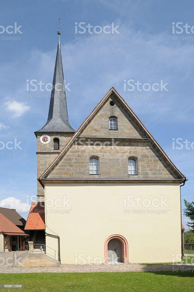 Church in Mistelbach royalty-free stock photo
