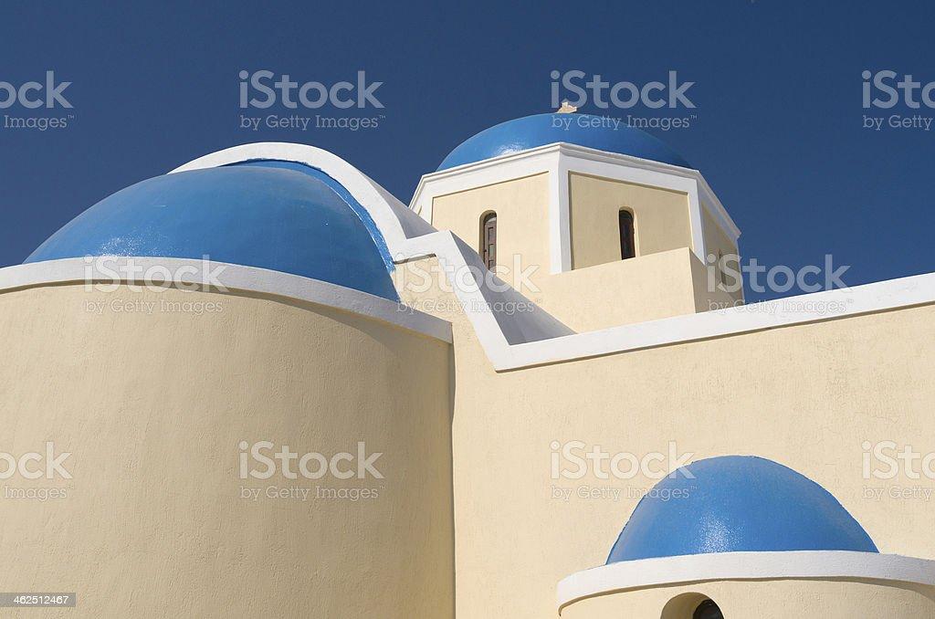 イアの教会です。 ロイヤリティフリーストックフォト