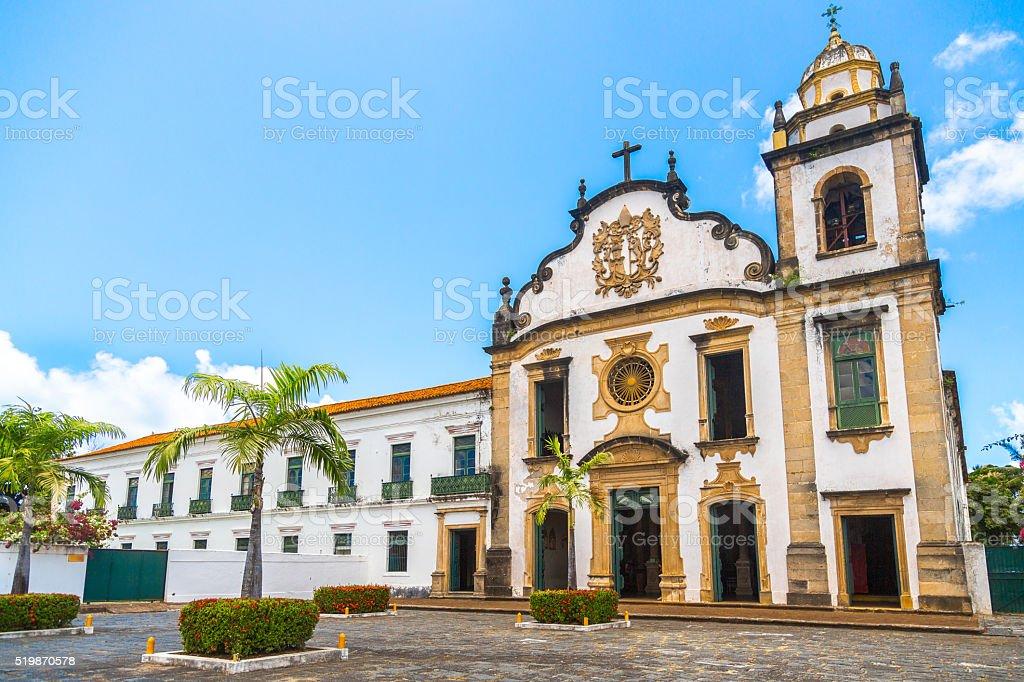 Church in Olinda stock photo