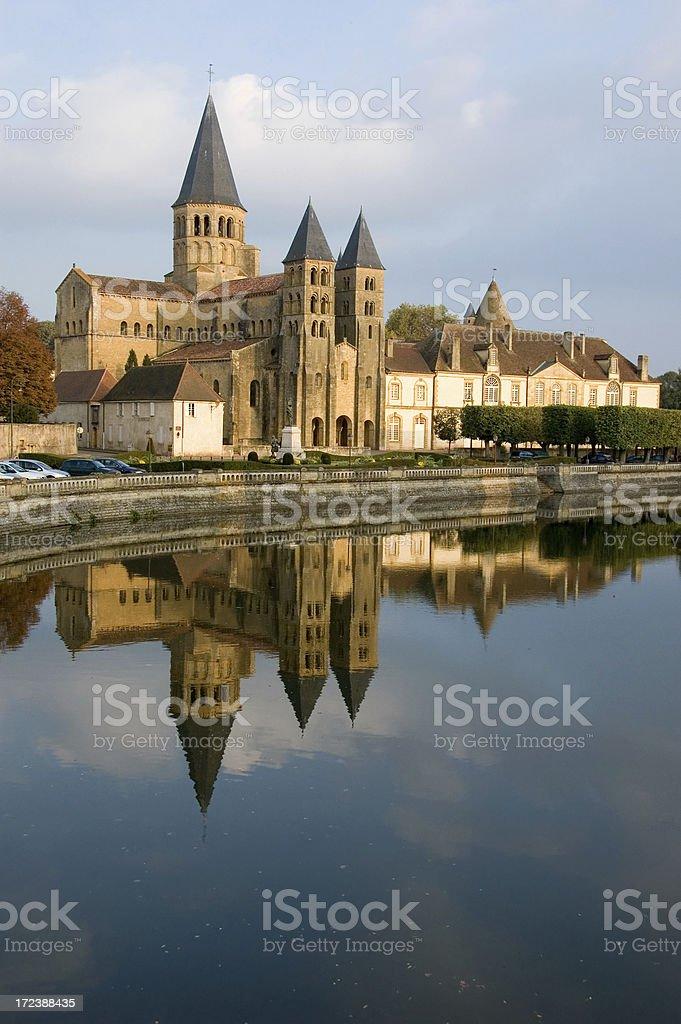 Church in Paray royalty-free stock photo