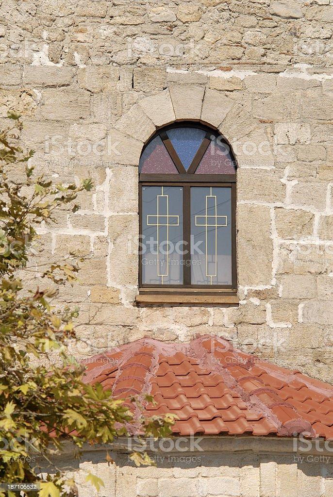 Church in Polychrono royalty-free stock photo