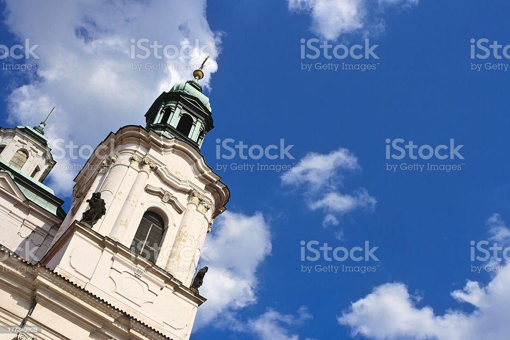 Church in Prague royalty-free stock photo