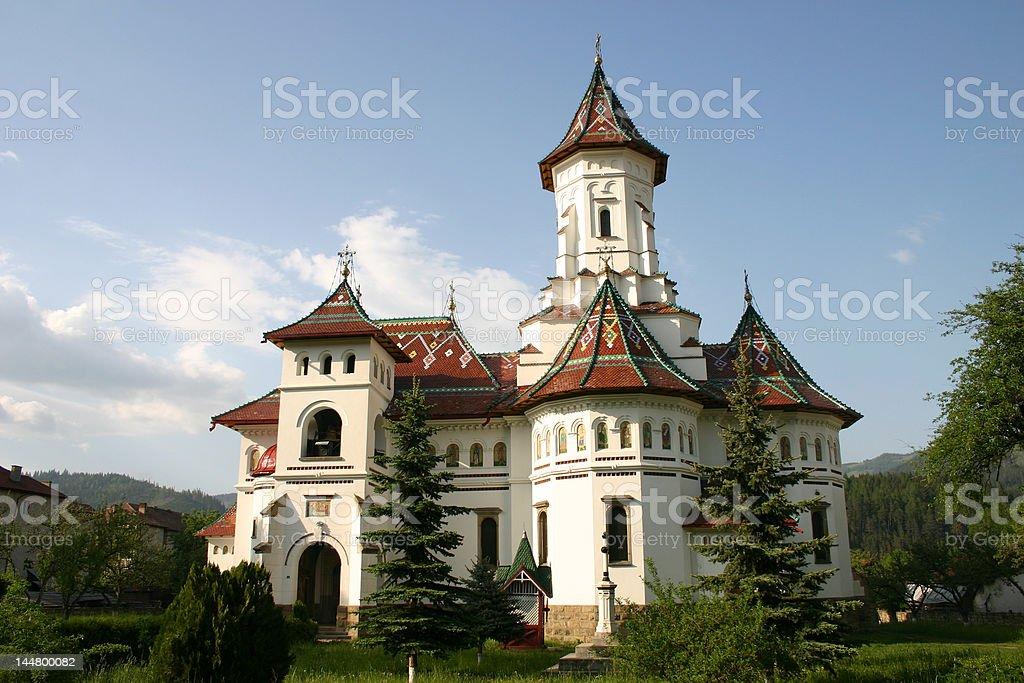 church in romania royalty-free stock photo