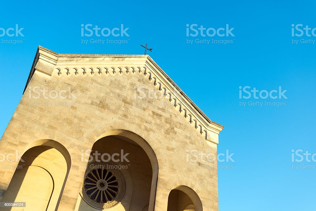 Church in Salento, Apulia region, Italy stock photo