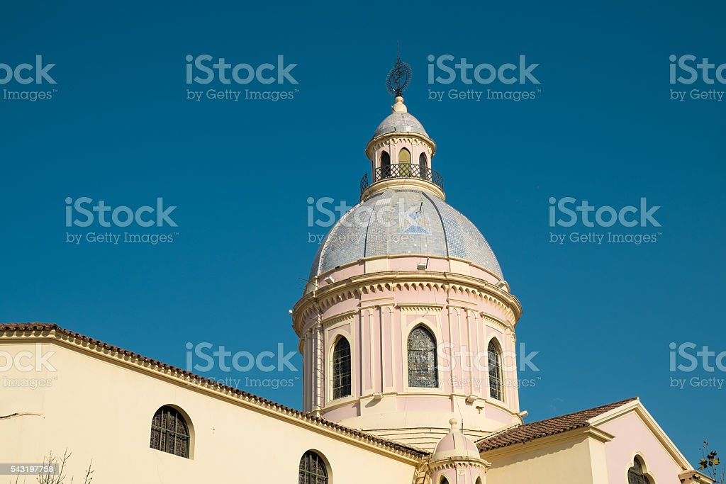 Church in Salta stock photo