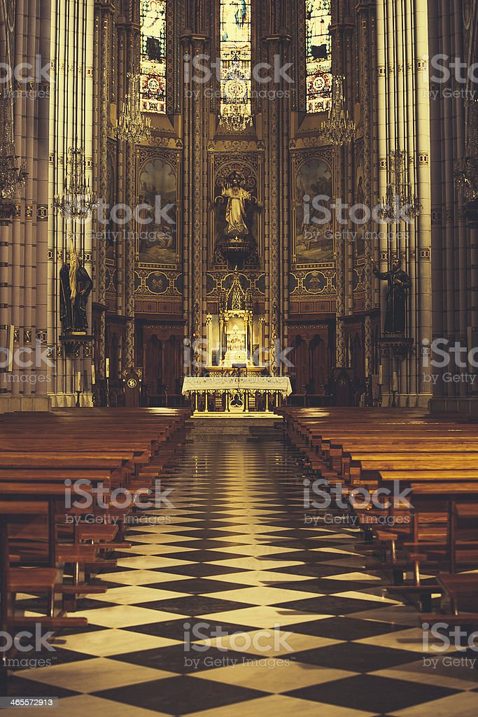 church in santander royalty-free stock photo